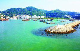 珠海万山岛沙滩趣味运动会足球场