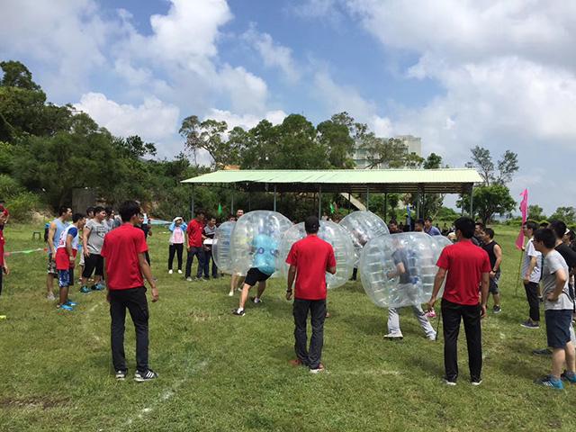 珠海龙翔生态园趣味运动会足球场