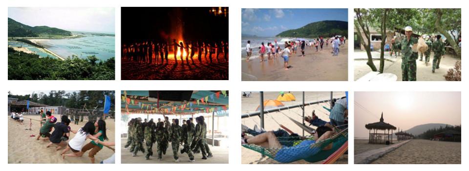 珠海银沙滩趣味运动会球馆