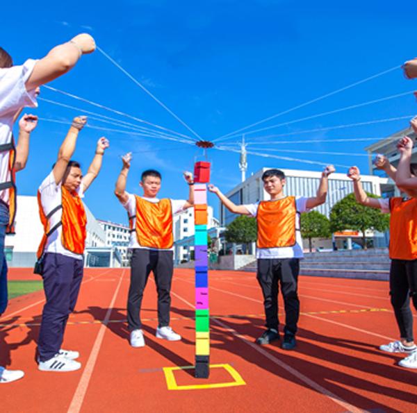佛山企业趣味运动会提高了员工的团队意识